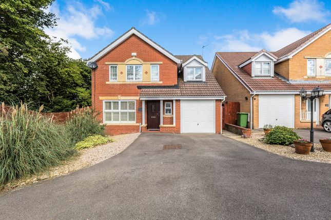 Thumbnail Detached house for sale in Colliers Avenue, Llanharan, Pontyclun