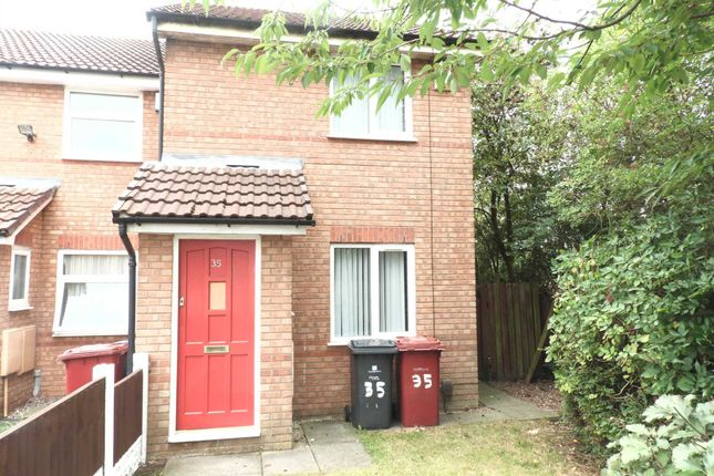 Thumbnail End terrace house to rent in Ness Grove, Westvale, Kirkby