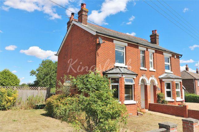 Thumbnail Semi-detached house for sale in East Lane, Dedham, Colchester, Essex