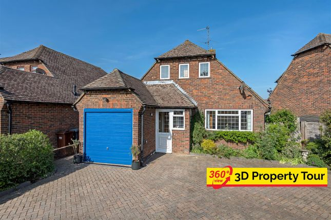 Thumbnail Detached house for sale in Harebeating Drive, Hailsham