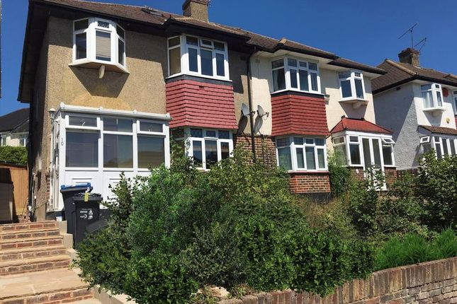 Thumbnail Semi-detached house to rent in Clifton Road, Coulsdon
