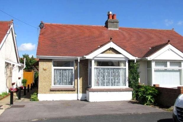 Thumbnail Bungalow to rent in Northcroft Road, Gosport