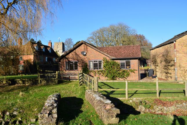 Thumbnail Detached bungalow to rent in Church Lane, Mildenhall, Marlborough