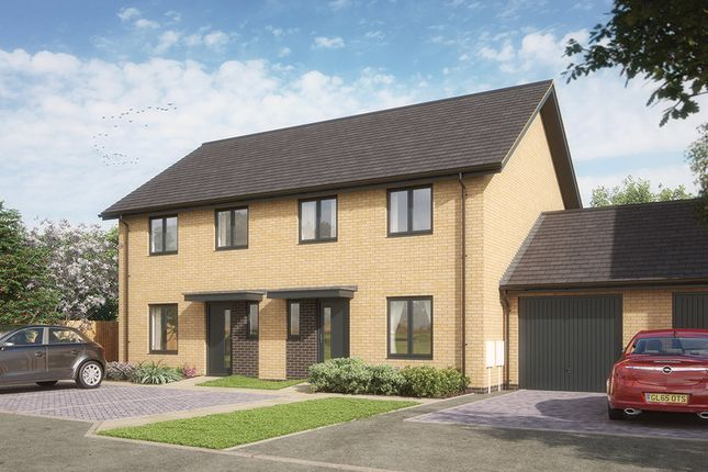 Thumbnail Semi-detached house for sale in Wissey Close, King's Lynn