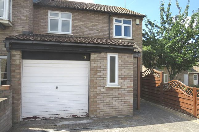 Thumbnail End terrace house for sale in York Close, Stoke Gifford, Bristol