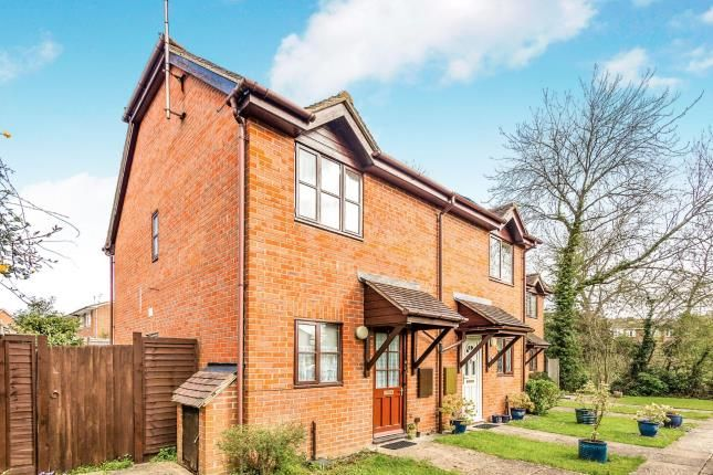 Thumbnail End terrace house for sale in Tadley, Hampshire, England