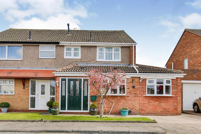 Thumbnail Semi-detached house for sale in Boston Close, Hartlepool