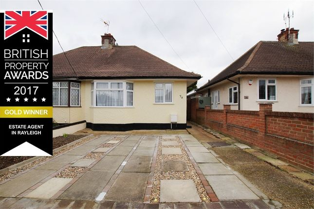 Thumbnail Semi-detached bungalow to rent in Oakwood Road, Close To Train Station, Rayleigh, Essex