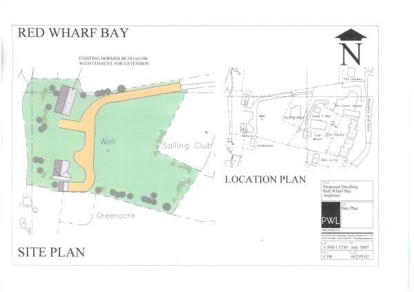 Thumbnail Land for sale in Coedle, Red Wharf Bay, Pentraeth, Gwynedd