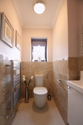 Downstairs W.C of Oldfield Gardens, Lower Heswall, Wirral CH60
