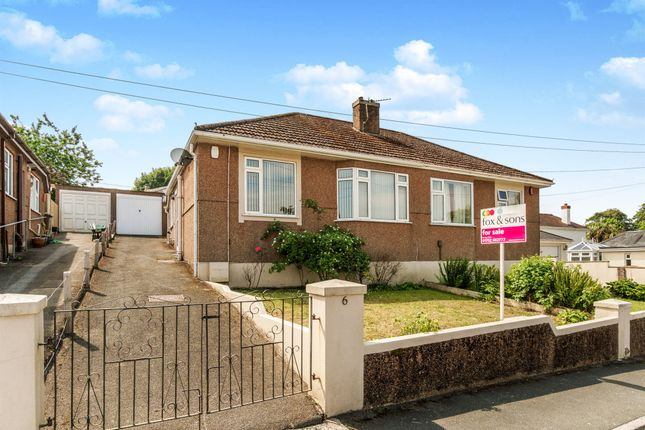 Thumbnail Semi-detached bungalow for sale in Grainge Road, Plymouth