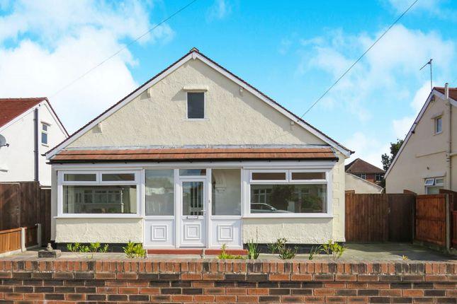 Thumbnail Detached bungalow for sale in Neva Avenue, Moreton, Wirral