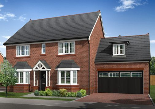 Thumbnail Detached house for sale in Plot 9 And 10, Biddulph Road, Congleton, Cheshire