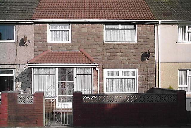 Thumbnail Terraced house to rent in Moorland Road, Port Talbot