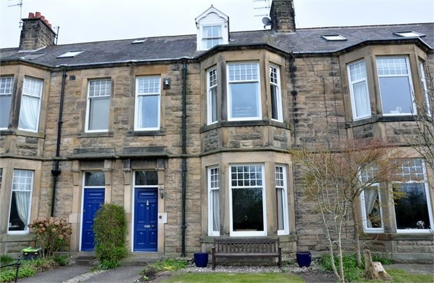 Thumbnail Terraced house for sale in Woodlands, Hexham, Northumberland.