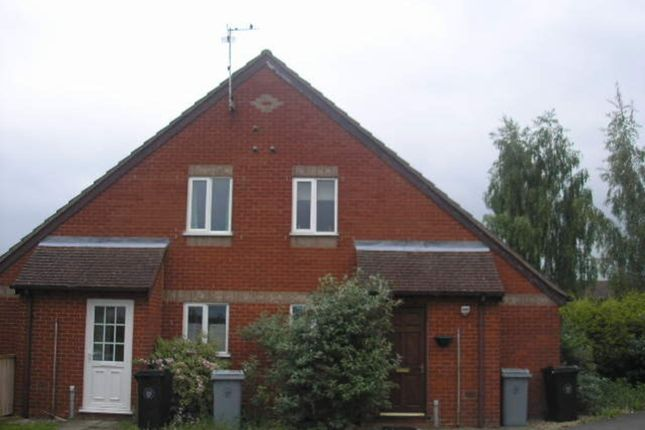Thumbnail Terraced house to rent in The Brambles, Deeping St. James, Peterborough