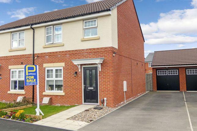 Thumbnail Semi-detached house for sale in Victoria Walk, Hebburn