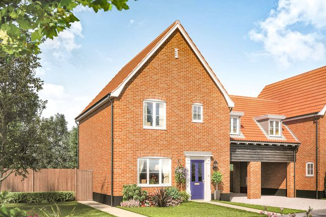 Link-detached house for sale in Fordham Road, Soham, Ely