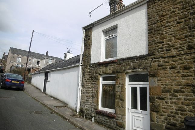 Thumbnail End terrace house for sale in Quarr Road, Pontardawe, Swansea.