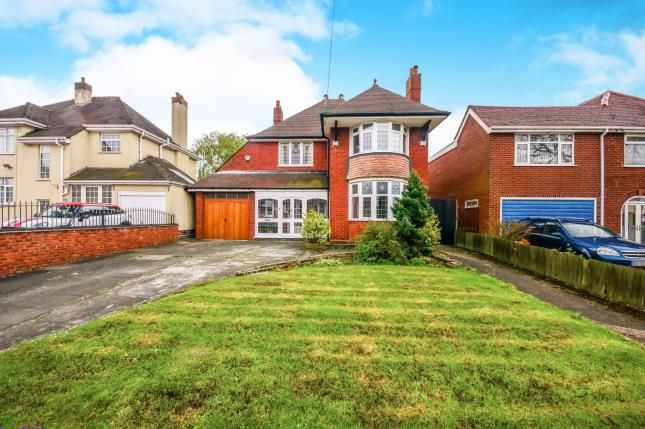 Thumbnail Detached house for sale in Bilston Road, Willenhall, West Midlands