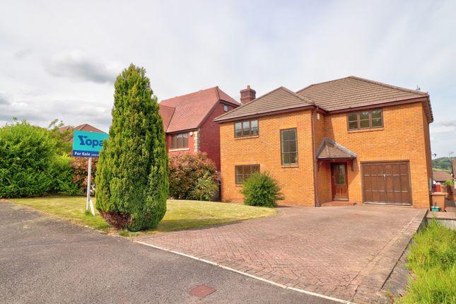Detached house for sale in St. Andrews Drive, Libanus Fields, Pontllanfraith, Blackwood