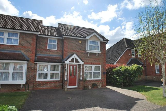 Thumbnail Property for sale in Hillier Place, Chessington