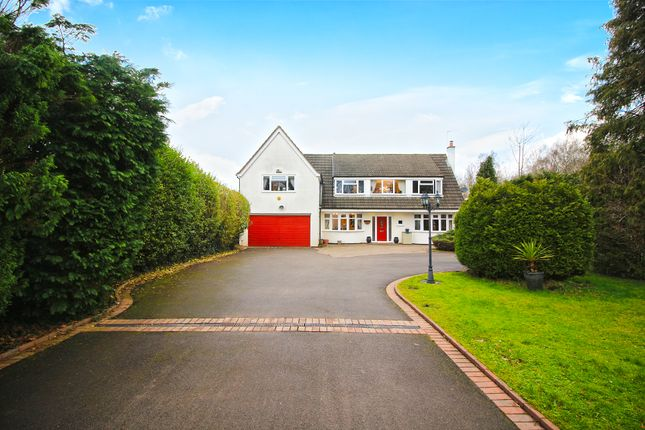 Thumbnail Detached house for sale in The Fordrough, Truemans Heath Lane, Shirley, Solihull