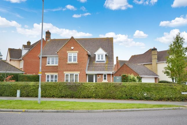 Thumbnail Detached house for sale in Woodlands Park Drive, Dunmow