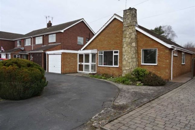 Thumbnail Detached bungalow for sale in Monks Road, Binley Woods, Coventry