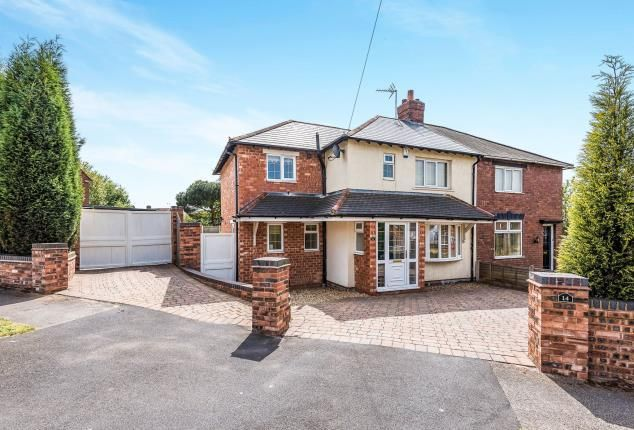 Thumbnail Semi-detached house for sale in Walton Road, Walsall, West Midlands, .