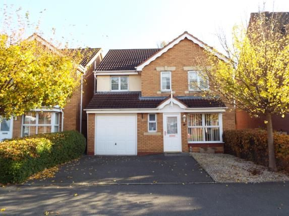 Thumbnail Detached house for sale in Primrose Drive, Bedworth, Warwickshire