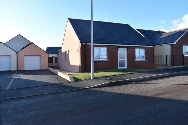 Thumbnail Bungalow for sale in Plot 15, Bowett Close, Hundleton, Pembroke