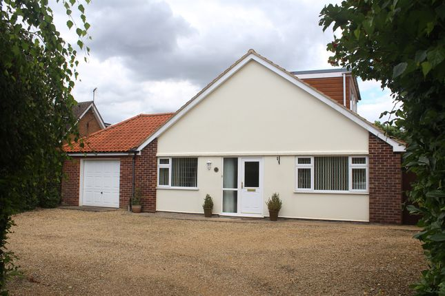 Thumbnail Detached bungalow for sale in The Green, North Runcton, King's Lynn