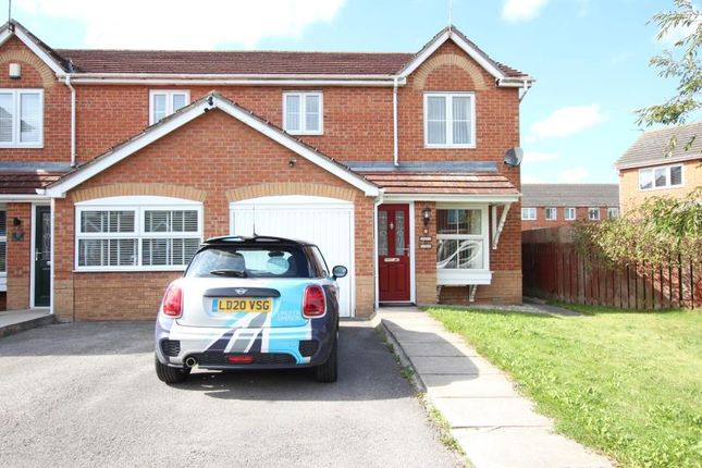 Thumbnail Semi-detached house to rent in Templewaters, Kingswood, Hull