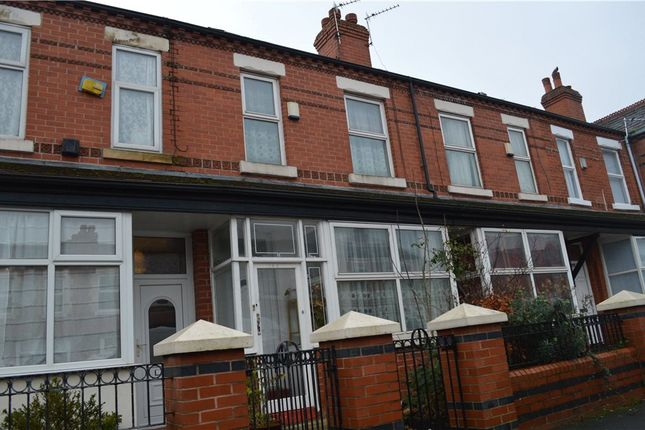 Thumbnail Terraced house for sale in Claremont Road, Manchester, Greater Manchester