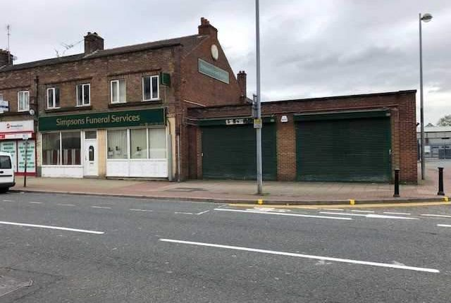 Thumbnail Retail premises for sale in 103-109, Eccles New Road, Salford, Salford