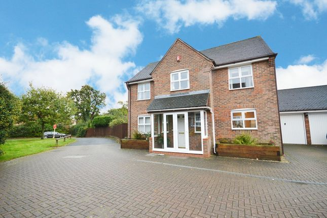 Thumbnail Detached house for sale in Hirdemonsway, Dickens Heath, Shirley, Solihull