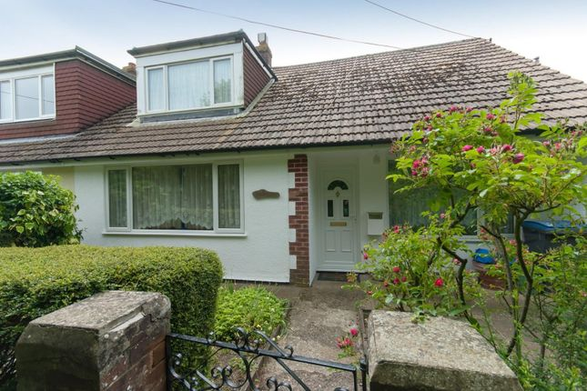 Thumbnail Semi-detached bungalow for sale in Back Street, Ringwould, Deal