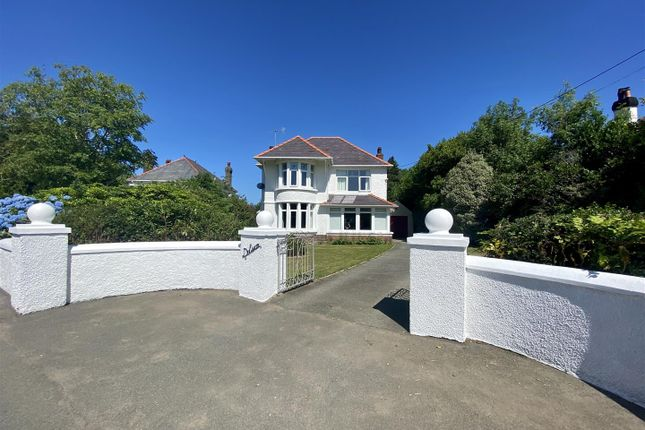 Thumbnail Detached house for sale in Dolwar, Dinas Cross, Newport
