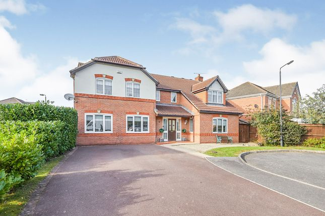 Thumbnail Detached house for sale in Bramblewick Drive, Littleover, Derby