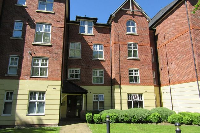Front of Alexandra Apartments, Alexandra Road South, Whalley Range, Manchester. M16