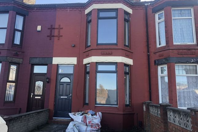 Thumbnail Terraced house to rent in Claremont Road, Seaforth, Liverpool