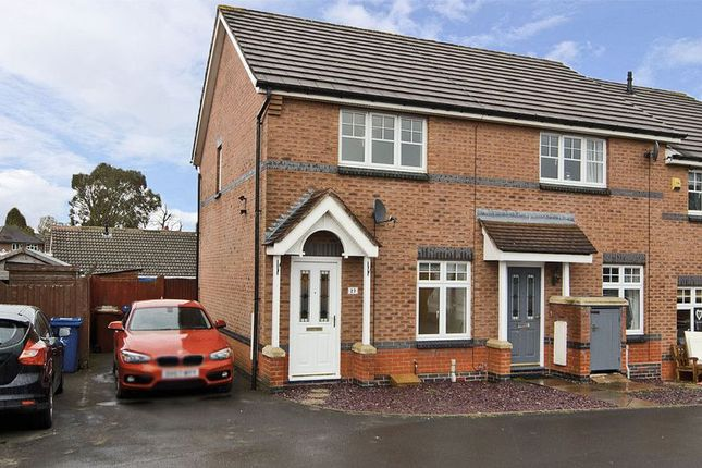 2 bed semi-detached house to rent in Foxes Rake, Cannock