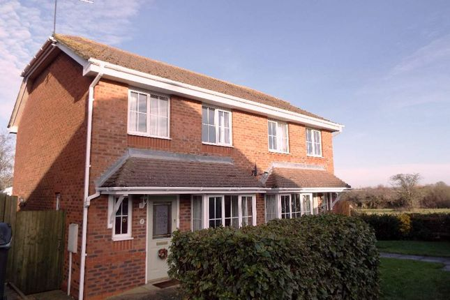 Thumbnail Semi-detached house for sale in Little Close, Bozeat, Northamptonshire