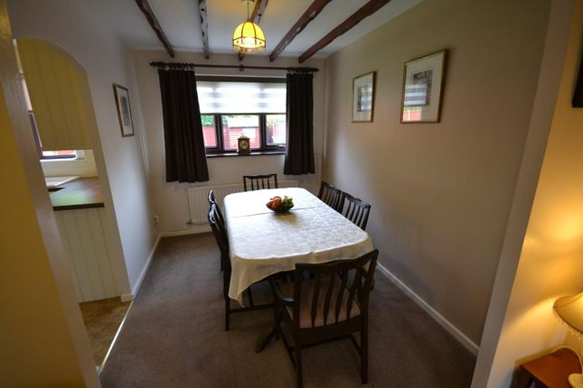 Dining Room of Vincent Close, Old Hall, Warrington WA5