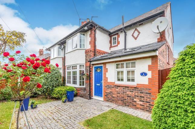 Thumbnail Semi-detached house for sale in Hill Top Road, Stockton Heath, Warrington, Cheshire