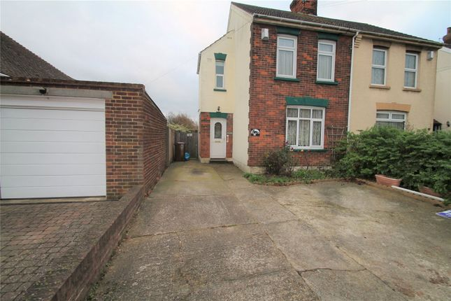 Thumbnail Semi-detached house for sale in Twydall Lane, Twydall, Rainham, Kent