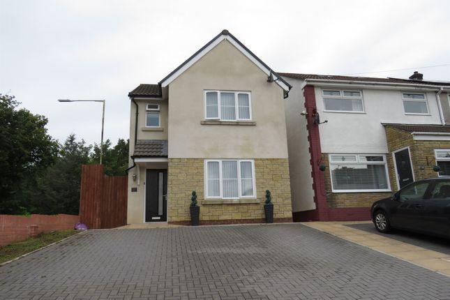 Thumbnail Detached house for sale in Cwrt Pentwyn, Llantwit Fardre, Pontypridd