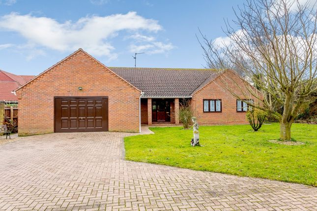 Thumbnail Detached bungalow for sale in Delph Fields, Spalding, Lincolnshire