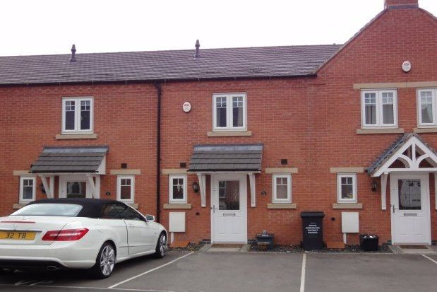 Thumbnail Town house to rent in Moray Close, Swadlincote